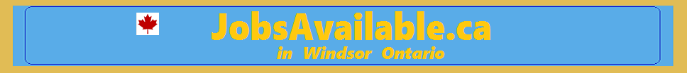 Work Hiring in Windsor Ontario